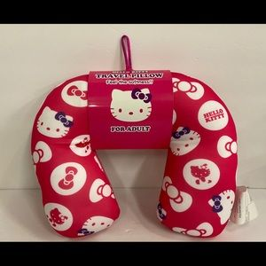 sanrio hello kitty travel pillow for adult.